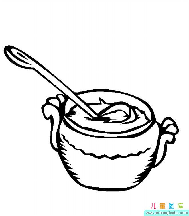 pease porridge hot coloring pages - photo#9