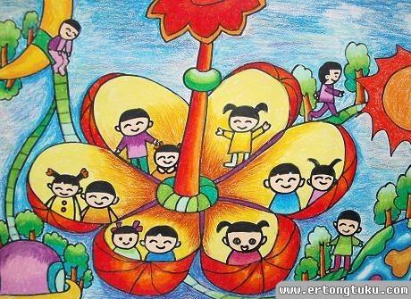 花朵房子 儿童获奖科幻片图片