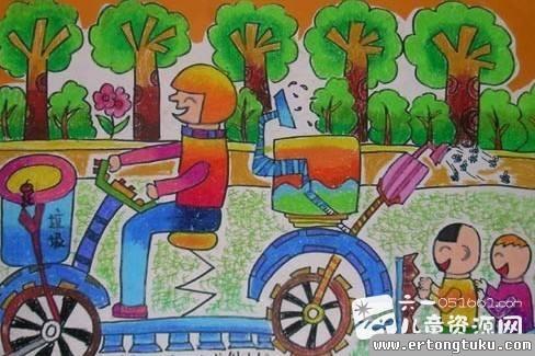 现代多用途自行车