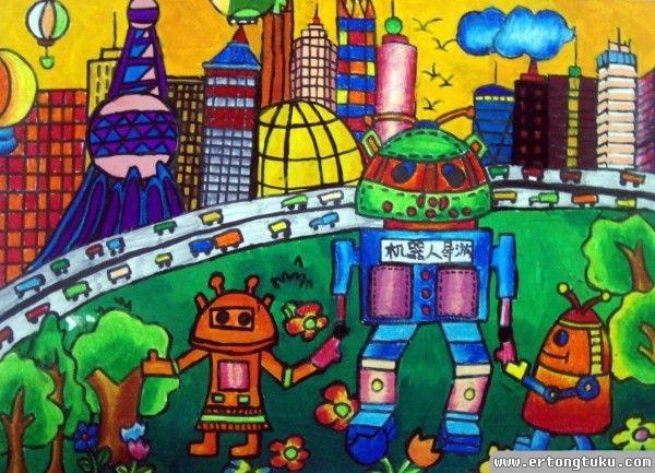 机器人旅游 儿童获奖科幻片图片