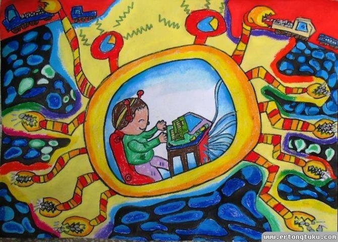 螃蟹挖矿机器人 儿童获奖科幻片图片