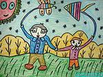 儿童画父亲节