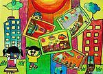 关于六一儿童节的儿童画