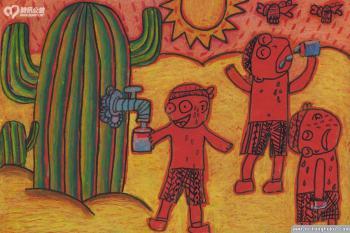 儿童画珍惜水资源 获奖作品图集
