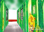 走廊里面的小老虎