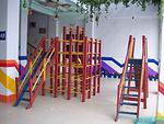 幼儿园大厅攀爬玩具
