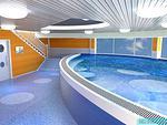 高档幼儿园恒温游泳池设计