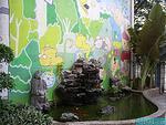 幼儿园金鱼池和假山设计