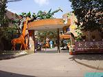 幼儿园大门装修设计:动物园主题