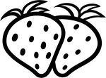 如何画草莓简笔画