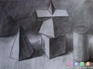 素描几何形体