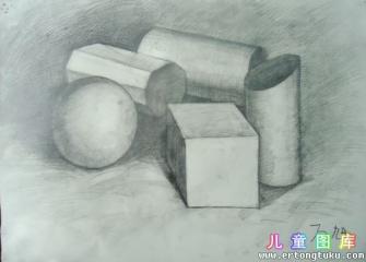 素描-几何形体
