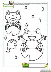 两只可爱的青蛙