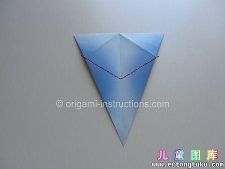 折纸鹦鹉图解 步骤9