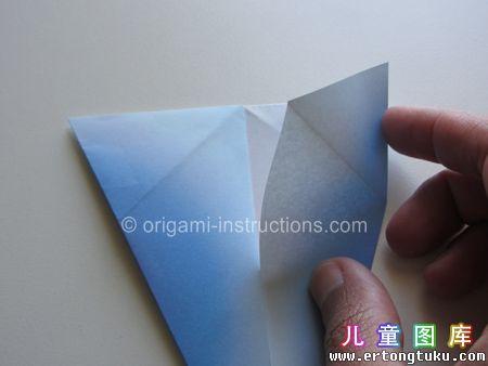 折纸鹦鹉图解 步骤10