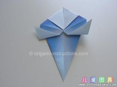 折纸鹦鹉图解 步骤15
