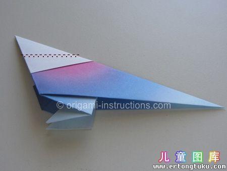 折纸鹦鹉图解 步骤16