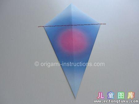 折纸鹦鹉图解 步骤5