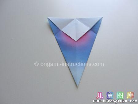 折纸鹦鹉图解 步骤8