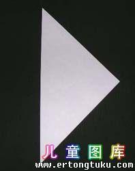 折纸天鹅图解 步骤2