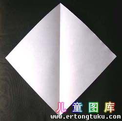 折纸天鹅图解 步骤3