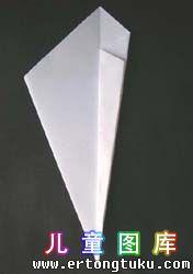 折纸天鹅图解 步骤6