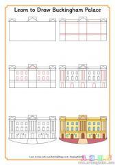 如何画白金汉宫