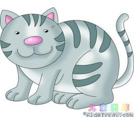 一笔一笔画猫