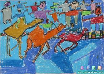 骑骆驼比赛 Camel Race