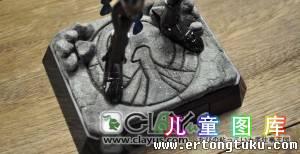 圣斗士玩具台座DIY