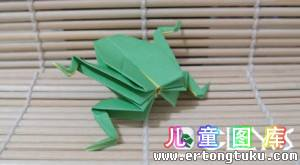 如何折纸小青蛙