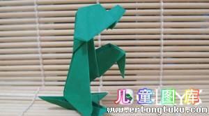 折纸DIY小狗教学