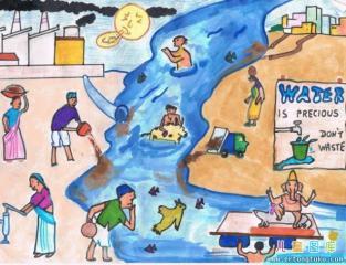 工业在污染我们的家园