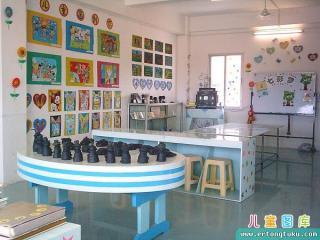 儿童画室布置和装扮 图集