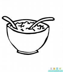 沙拉简笔画图片