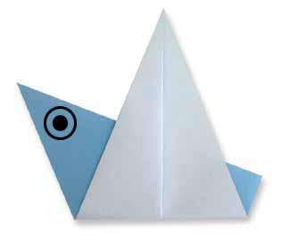 折纸鸟的方法和步骤图解