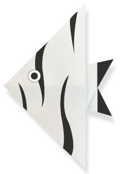 折纸天使鱼和步骤图解