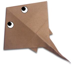 折纸魔鬼鱼和步骤图解