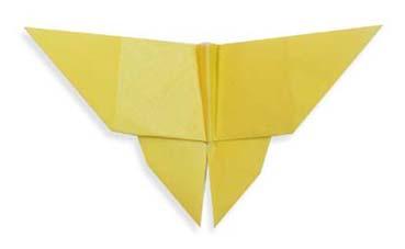 蝴蝶折纸和步骤图解