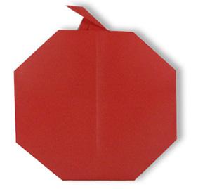 折纸苹果和步骤图解