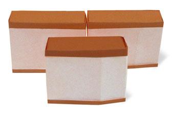 折纸卡斯特拉蛋糕和步骤图解