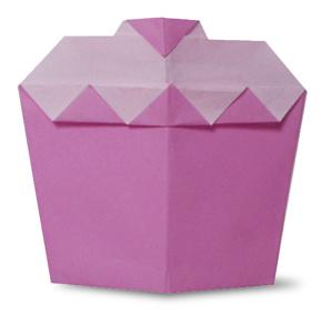 折纸小蛋糕和步骤图解
