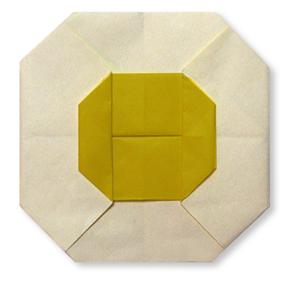 折纸煎蛋和步骤图解