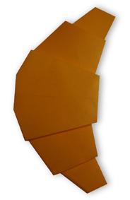 折纸羊角面包和步骤图解