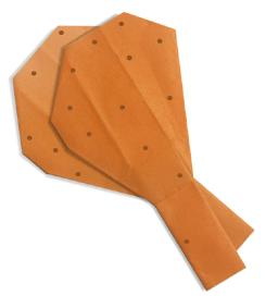 折纸鸡腿和步骤图解