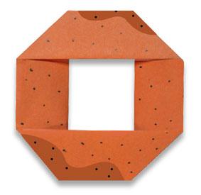 折纸甜甜圈和步骤图解