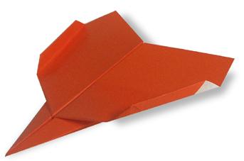 飞机4的折纸和步骤图解