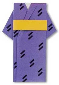 折纸和服的方法和步骤图解