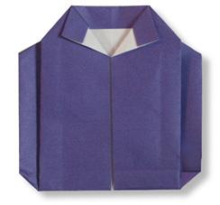 折纸外套的方法和步骤图解