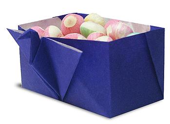 纸鹤小鸟形状的糖果盒和步骤图解
